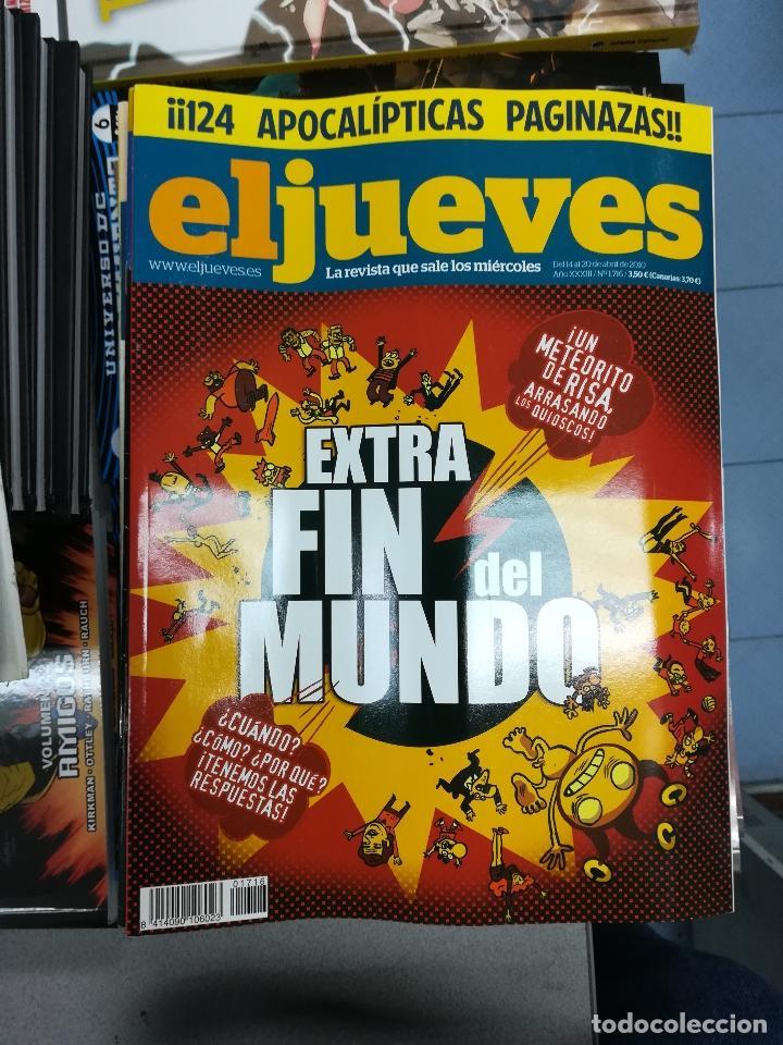 Tebeos: EL JUEVES - CASI 40 AÑOS DE LA REVISTA - 2022 NUMEROS (DEL 1 A 2059 - FALTAN 37 INTERCALADOS) - Foto 92 - 103441187