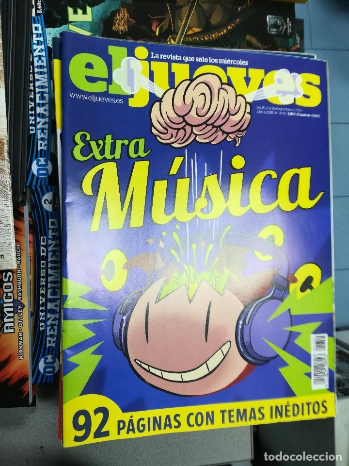 Tebeos: EL JUEVES - CASI 40 AÑOS DE LA REVISTA - 2022 NUMEROS (DEL 1 A 2059 - FALTAN 37 INTERCALADOS) - Foto 93 - 103441187