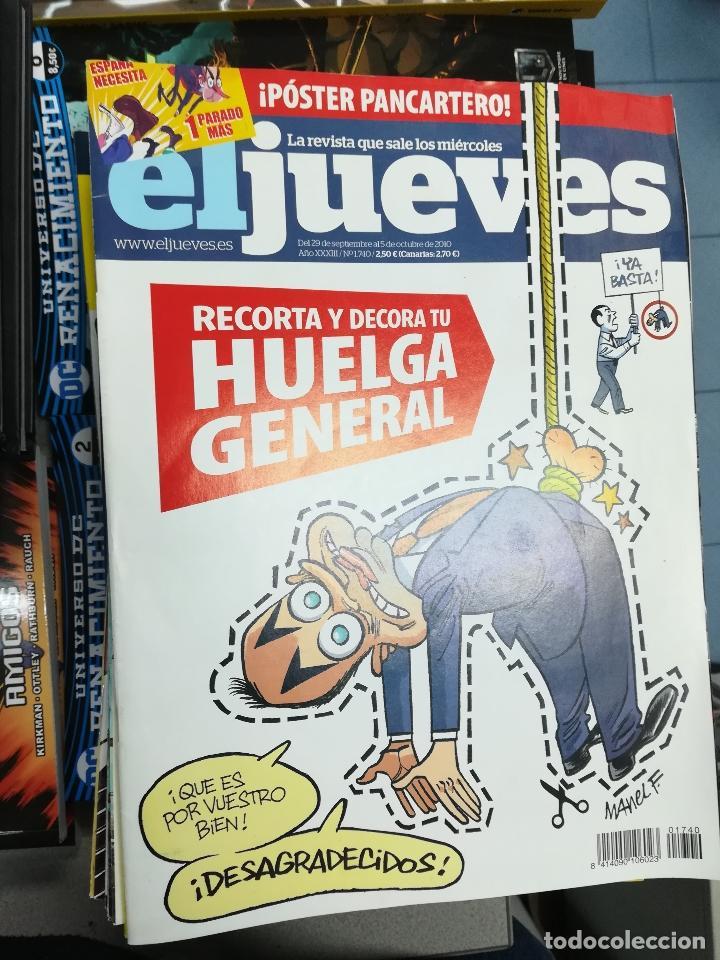Tebeos: EL JUEVES - CASI 40 AÑOS DE LA REVISTA - 2022 NUMEROS (DEL 1 A 2059 - FALTAN 37 INTERCALADOS) - Foto 95 - 103441187