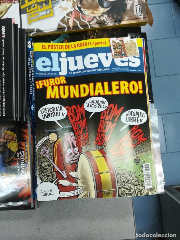 Tebeos: EL JUEVES - CASI 40 AÑOS DE LA REVISTA - 2022 NUMEROS (DEL 1 A 2059 - FALTAN 37 INTERCALADOS) - Foto 97 - 103441187