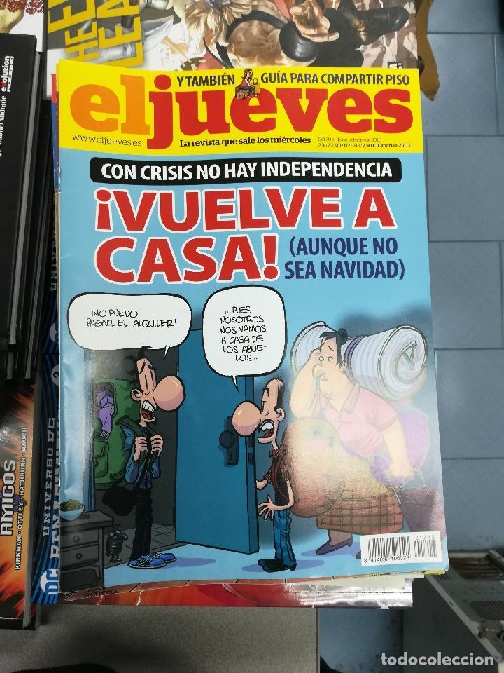 Tebeos: EL JUEVES - CASI 40 AÑOS DE LA REVISTA - 2022 NUMEROS (DEL 1 A 2059 - FALTAN 37 INTERCALADOS) - Foto 99 - 103441187
