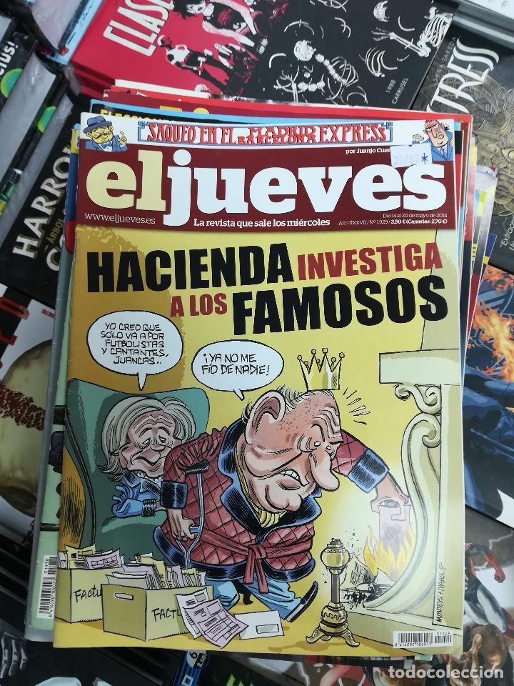 Tebeos: EL JUEVES - CASI 40 AÑOS DE LA REVISTA - 2022 NUMEROS (DEL 1 A 2059 - FALTAN 37 INTERCALADOS) - Foto 100 - 103441187