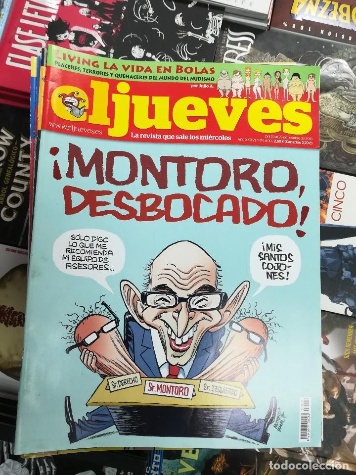 Tebeos: EL JUEVES - CASI 40 AÑOS DE LA REVISTA - 2022 NUMEROS (DEL 1 A 2059 - FALTAN 37 INTERCALADOS) - Foto 101 - 103441187