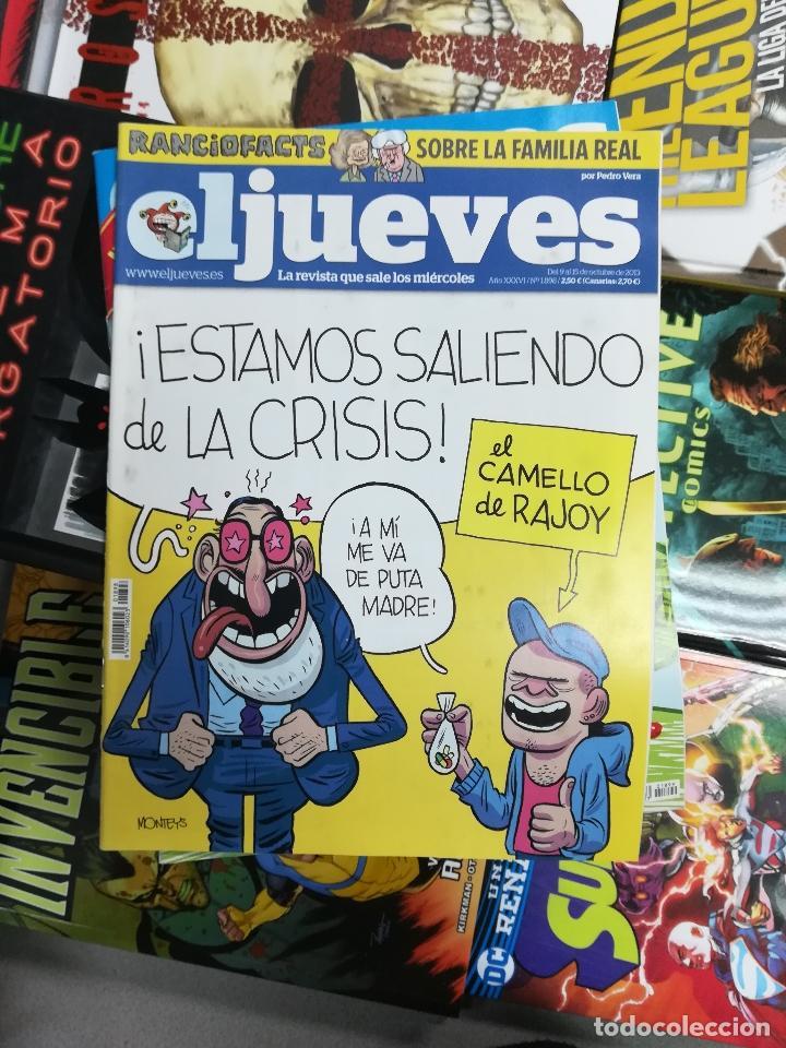 Tebeos: EL JUEVES - CASI 40 AÑOS DE LA REVISTA - 2022 NUMEROS (DEL 1 A 2059 - FALTAN 37 INTERCALADOS) - Foto 102 - 103441187