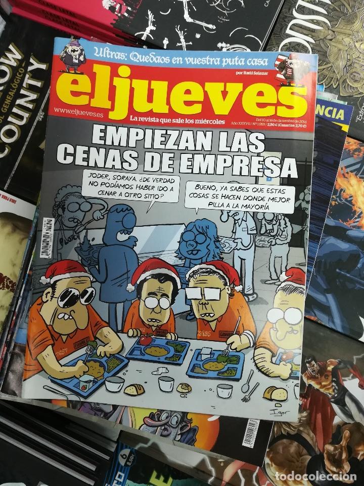 Tebeos: EL JUEVES - CASI 40 AÑOS DE LA REVISTA - 2022 NUMEROS (DEL 1 A 2059 - FALTAN 37 INTERCALADOS) - Foto 103 - 103441187