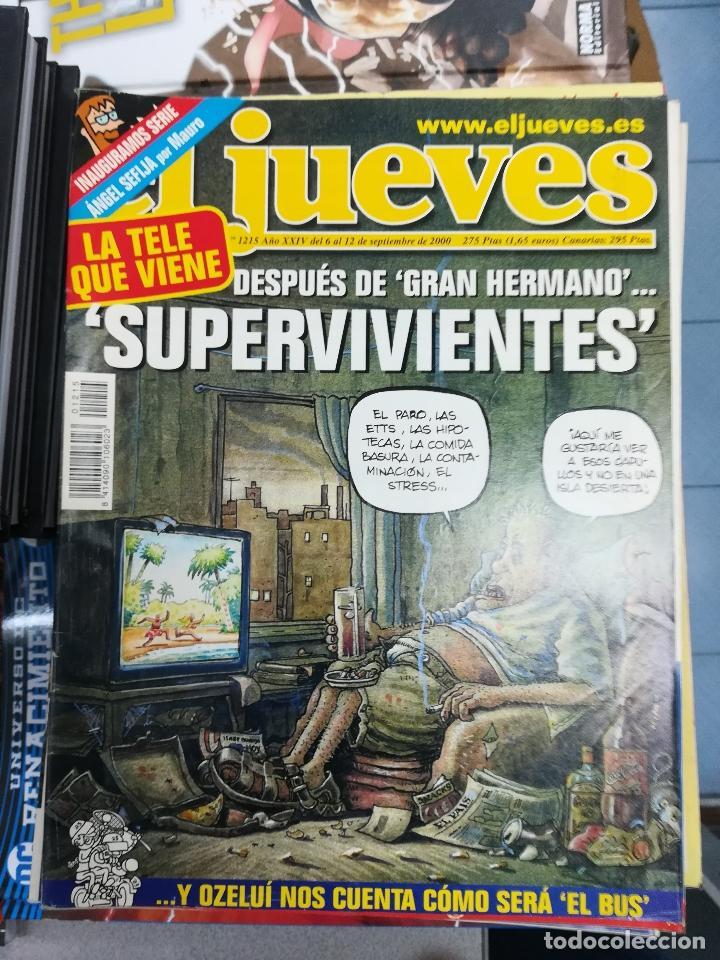 Tebeos: EL JUEVES - CASI 40 AÑOS DE LA REVISTA - 2022 NUMEROS (DEL 1 A 2059 - FALTAN 37 INTERCALADOS) - Foto 104 - 103441187