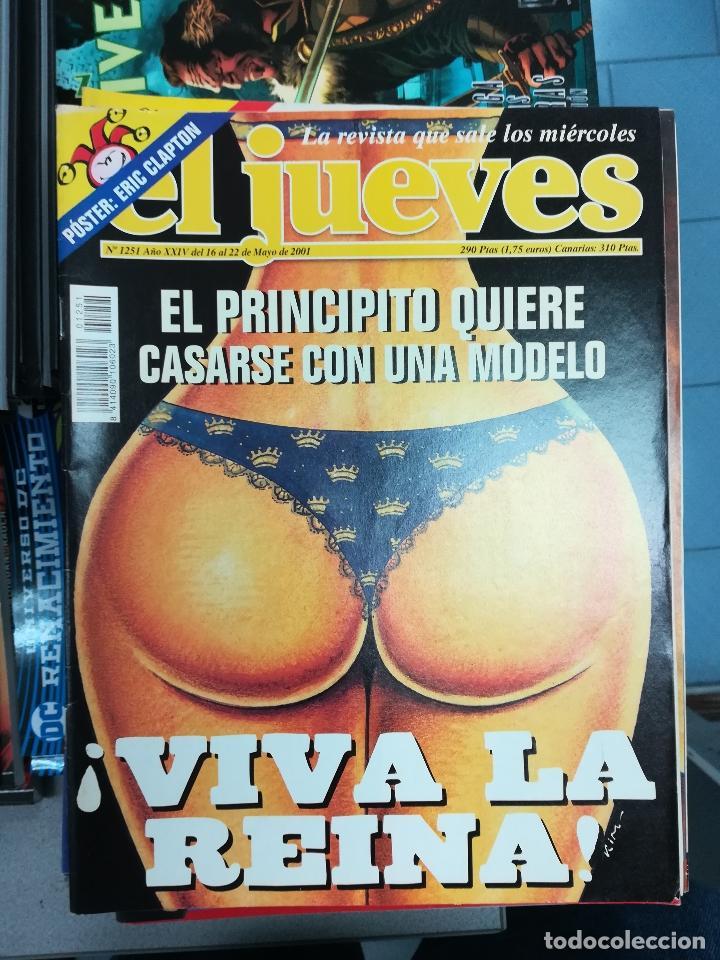 Tebeos: EL JUEVES - CASI 40 AÑOS DE LA REVISTA - 2022 NUMEROS (DEL 1 A 2059 - FALTAN 37 INTERCALADOS) - Foto 107 - 103441187