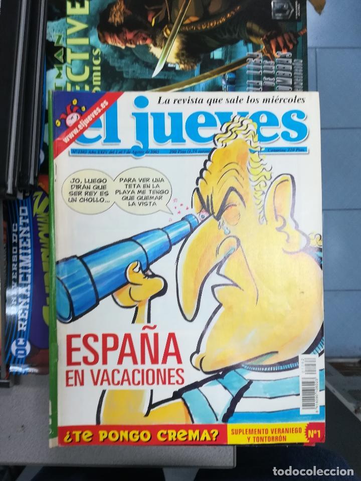 Tebeos: EL JUEVES - CASI 40 AÑOS DE LA REVISTA - 2022 NUMEROS (DEL 1 A 2059 - FALTAN 37 INTERCALADOS) - Foto 108 - 103441187