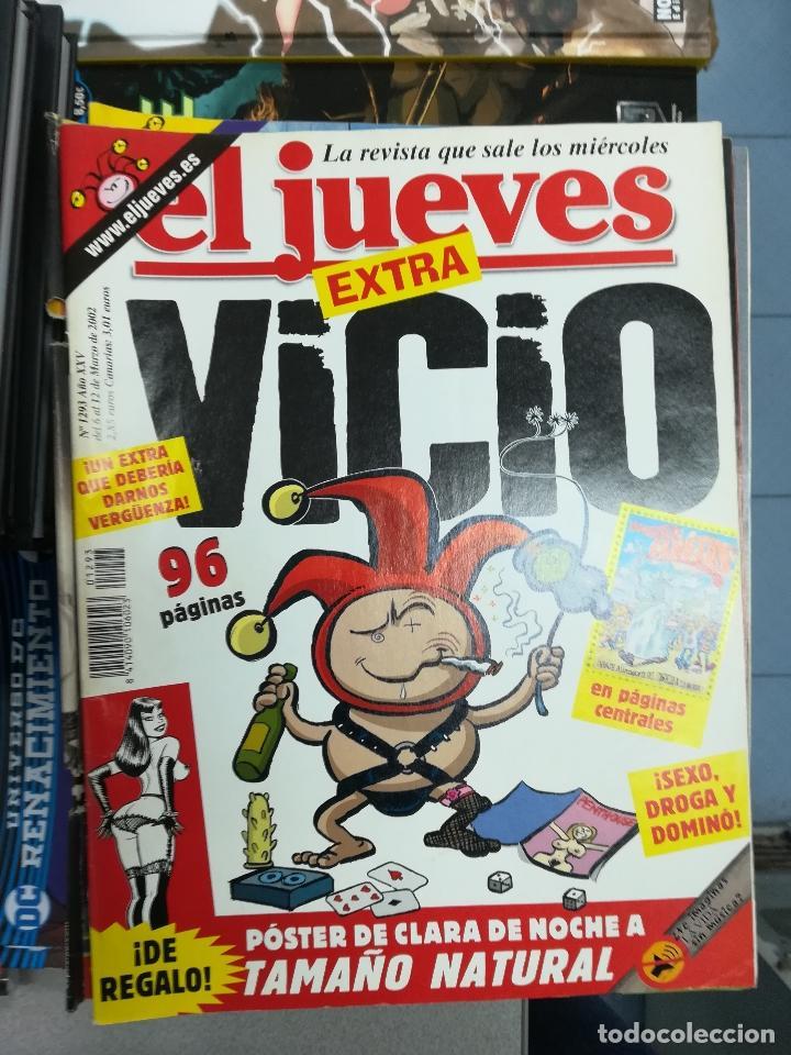 Tebeos: EL JUEVES - CASI 40 AÑOS DE LA REVISTA - 2022 NUMEROS (DEL 1 A 2059 - FALTAN 37 INTERCALADOS) - Foto 110 - 103441187