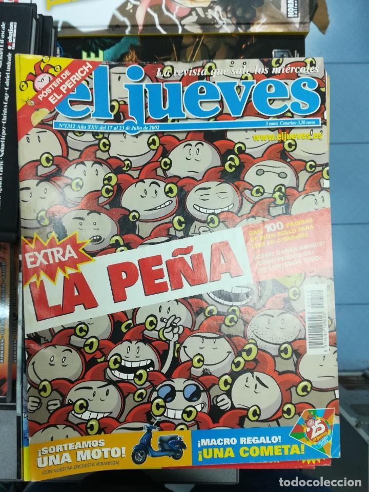 Tebeos: EL JUEVES - CASI 40 AÑOS DE LA REVISTA - 2022 NUMEROS (DEL 1 A 2059 - FALTAN 37 INTERCALADOS) - Foto 111 - 103441187
