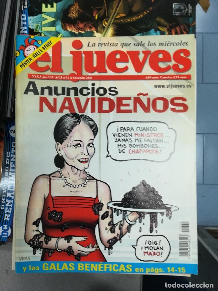 Tebeos: EL JUEVES - CASI 40 AÑOS DE LA REVISTA - 2022 NUMEROS (DEL 1 A 2059 - FALTAN 37 INTERCALADOS) - Foto 113 - 103441187