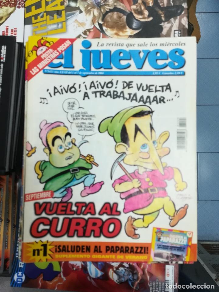 Tebeos: EL JUEVES - CASI 40 AÑOS DE LA REVISTA - 2022 NUMEROS (DEL 1 A 2059 - FALTAN 37 INTERCALADOS) - Foto 115 - 103441187