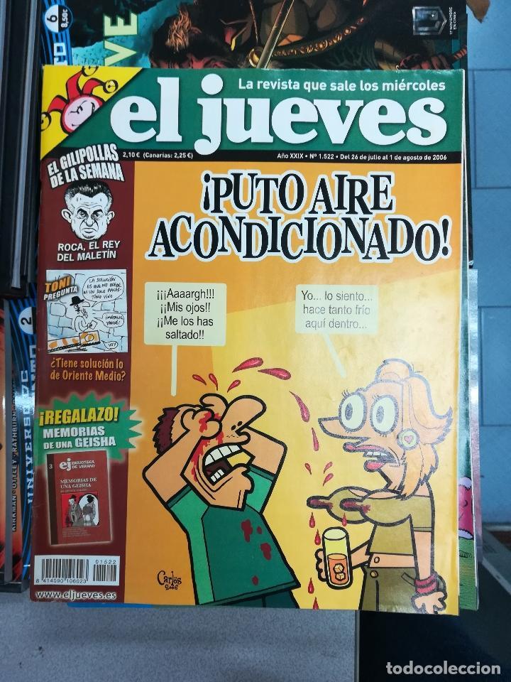 Tebeos: EL JUEVES - CASI 40 AÑOS DE LA REVISTA - 2022 NUMEROS (DEL 1 A 2059 - FALTAN 37 INTERCALADOS) - Foto 116 - 103441187