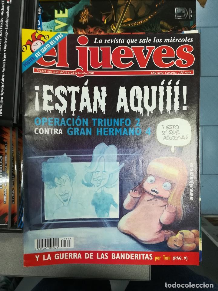 Tebeos: EL JUEVES - CASI 40 AÑOS DE LA REVISTA - 2022 NUMEROS (DEL 1 A 2059 - FALTAN 37 INTERCALADOS) - Foto 117 - 103441187