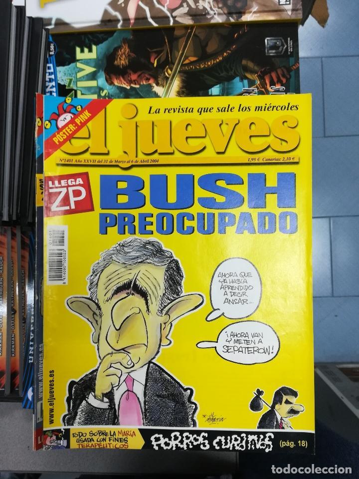 Tebeos: EL JUEVES - CASI 40 AÑOS DE LA REVISTA - 2022 NUMEROS (DEL 1 A 2059 - FALTAN 37 INTERCALADOS) - Foto 118 - 103441187