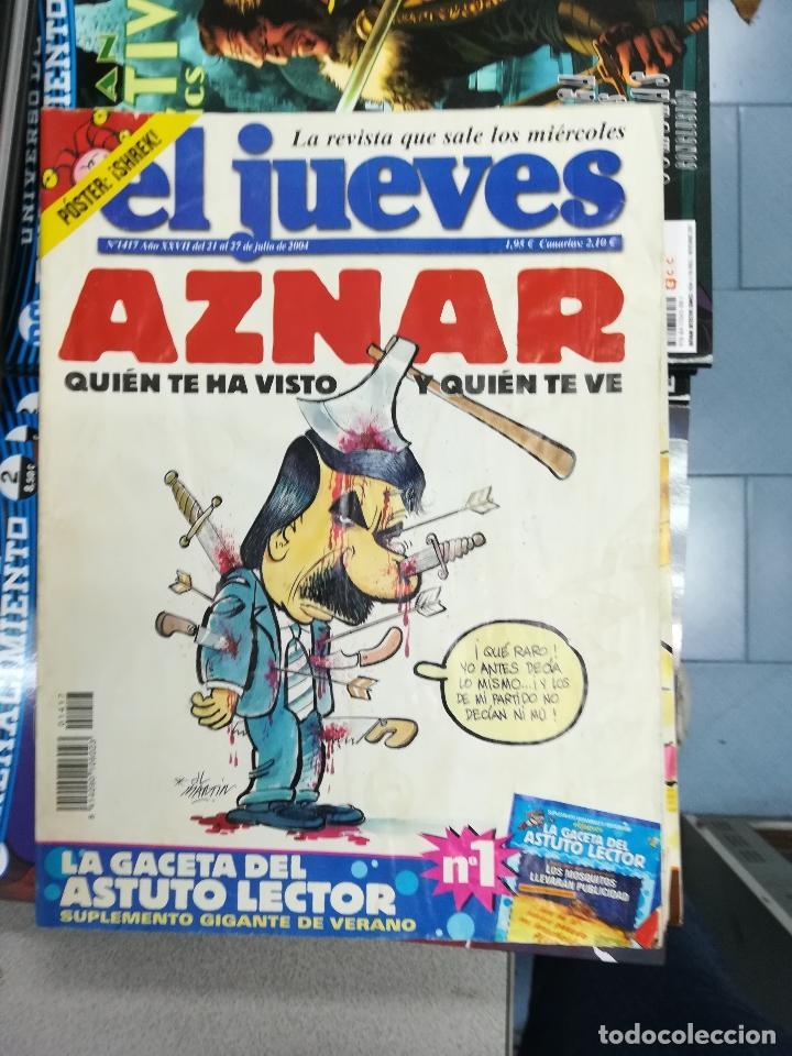 Tebeos: EL JUEVES - CASI 40 AÑOS DE LA REVISTA - 2022 NUMEROS (DEL 1 A 2059 - FALTAN 37 INTERCALADOS) - Foto 121 - 103441187