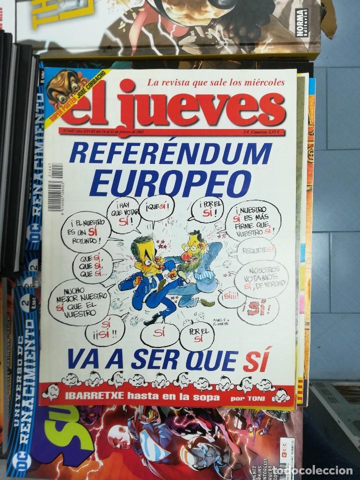 Tebeos: EL JUEVES - CASI 40 AÑOS DE LA REVISTA - 2022 NUMEROS (DEL 1 A 2059 - FALTAN 37 INTERCALADOS) - Foto 122 - 103441187