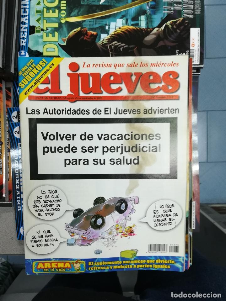 Tebeos: EL JUEVES - CASI 40 AÑOS DE LA REVISTA - 2022 NUMEROS (DEL 1 A 2059 - FALTAN 37 INTERCALADOS) - Foto 123 - 103441187