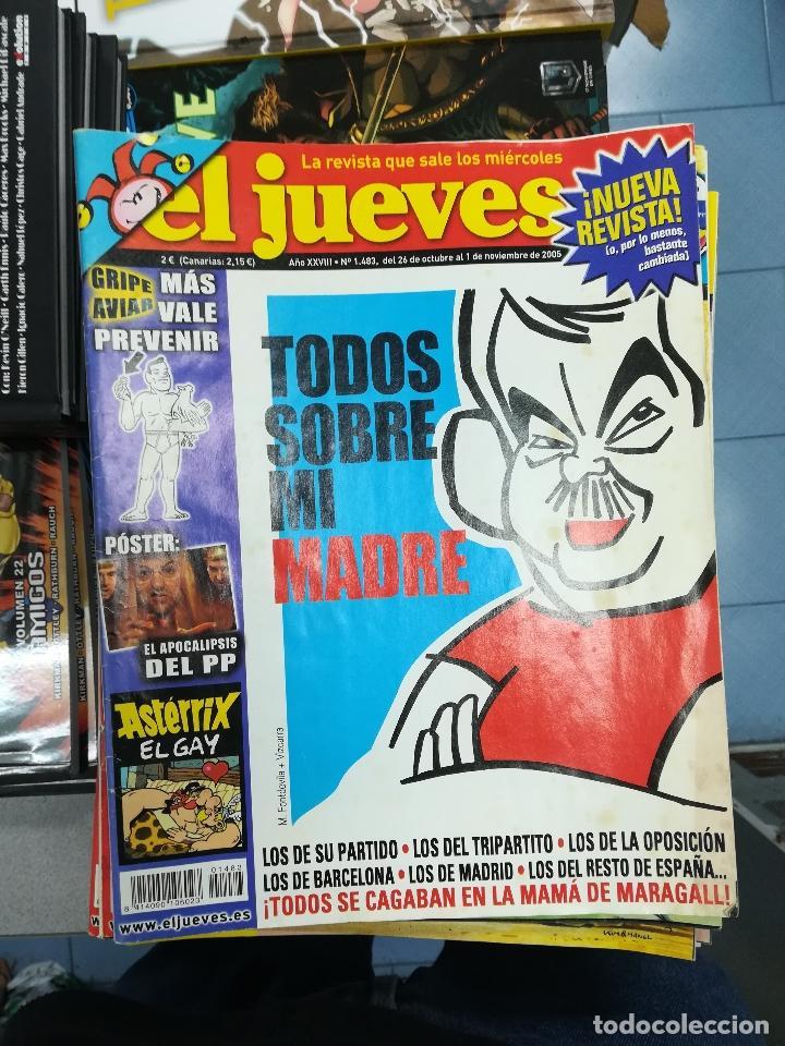 Tebeos: EL JUEVES - CASI 40 AÑOS DE LA REVISTA - 2022 NUMEROS (DEL 1 A 2059 - FALTAN 37 INTERCALADOS) - Foto 124 - 103441187