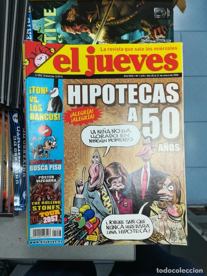 Tebeos: EL JUEVES - CASI 40 AÑOS DE LA REVISTA - 2022 NUMEROS (DEL 1 A 2059 - FALTAN 37 INTERCALADOS) - Foto 125 - 103441187