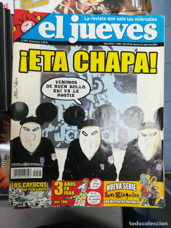 Tebeos: EL JUEVES - CASI 40 AÑOS DE LA REVISTA - 2022 NUMEROS (DEL 1 A 2059 - FALTAN 37 INTERCALADOS) - Foto 126 - 103441187