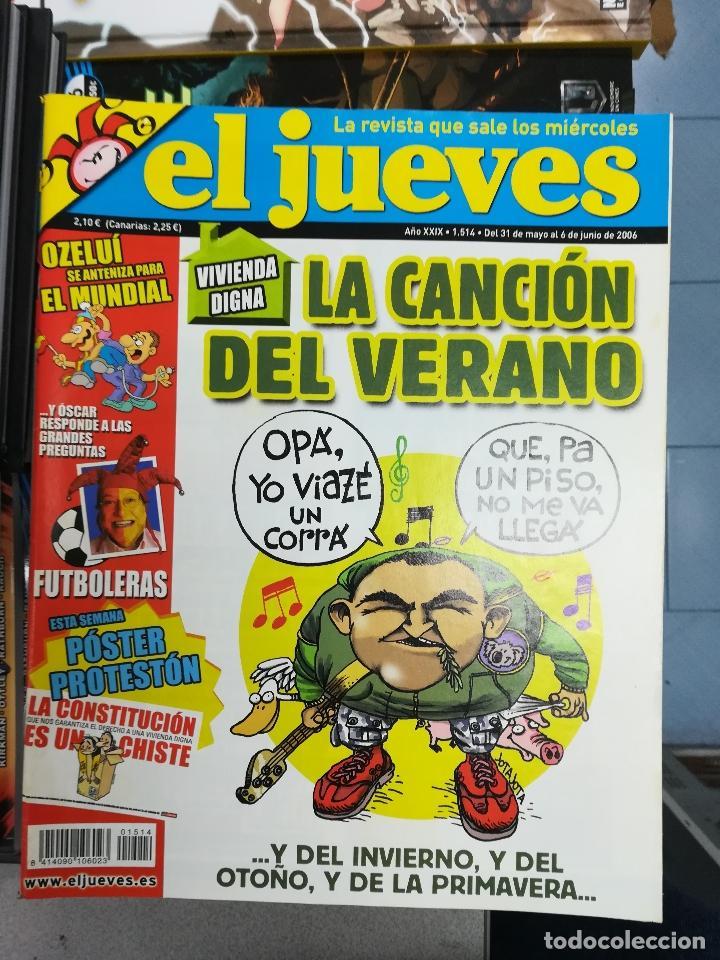 Tebeos: EL JUEVES - CASI 40 AÑOS DE LA REVISTA - 2022 NUMEROS (DEL 1 A 2059 - FALTAN 37 INTERCALADOS) - Foto 127 - 103441187