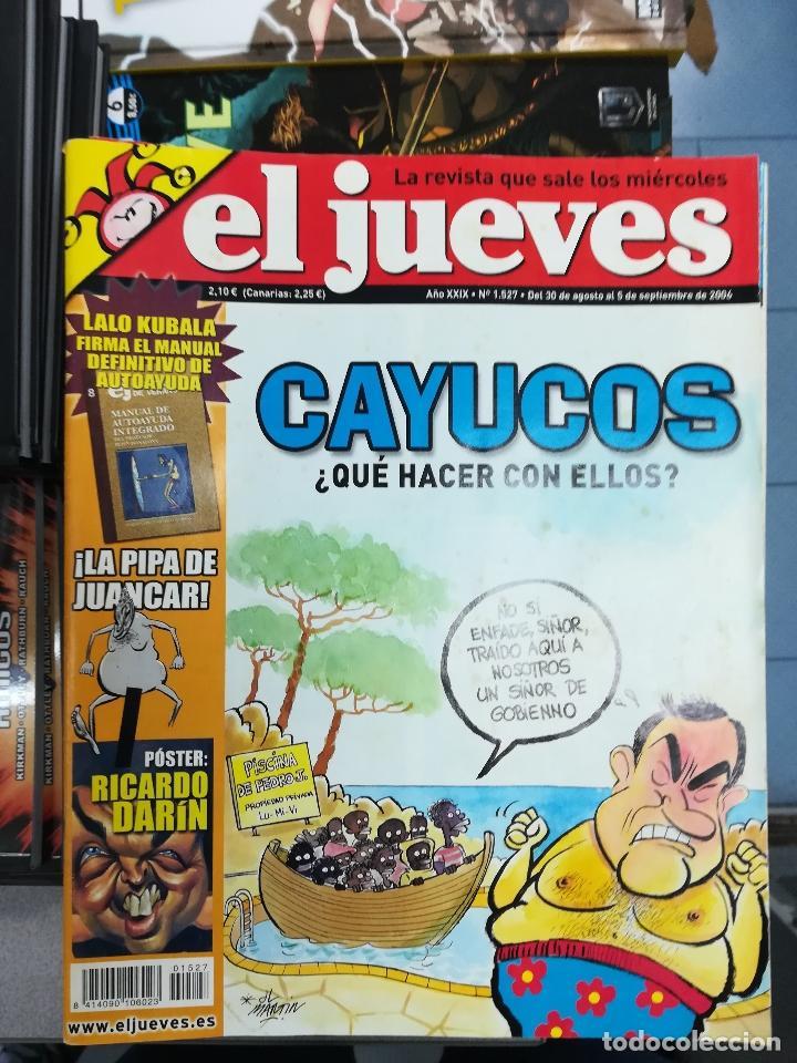 Tebeos: EL JUEVES - CASI 40 AÑOS DE LA REVISTA - 2022 NUMEROS (DEL 1 A 2059 - FALTAN 37 INTERCALADOS) - Foto 128 - 103441187