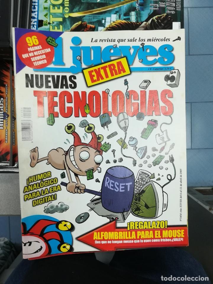 Tebeos: EL JUEVES - CASI 40 AÑOS DE LA REVISTA - 2022 NUMEROS (DEL 1 A 2059 - FALTAN 37 INTERCALADOS) - Foto 129 - 103441187