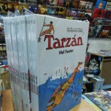 Tebeos: TARZAN DE HAL FOSTER BIBLIOTECA GRANDES DEL COMIC COLECCION COMPLETA (18 TOMOS- DE 1931 A 1950). Lote 103482235