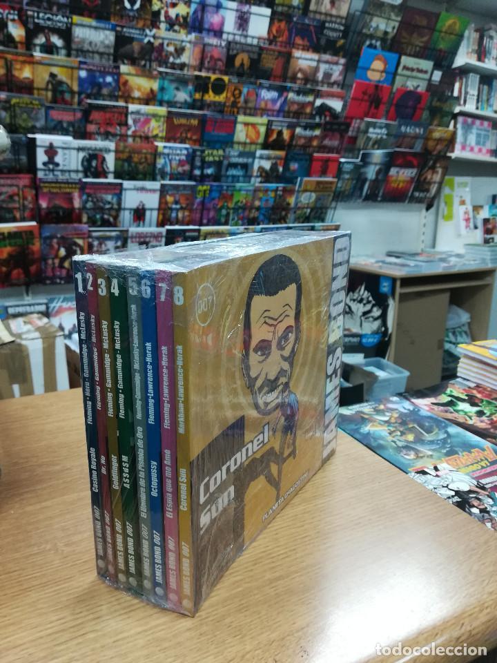 JAMES BOND BIBLIOTECA GRANDES DEL COMIC COLECCION COMPLETA (8 TOMOS) (Tebeos y Comics - Tebeos Colecciones y Lotes Avanzados)
