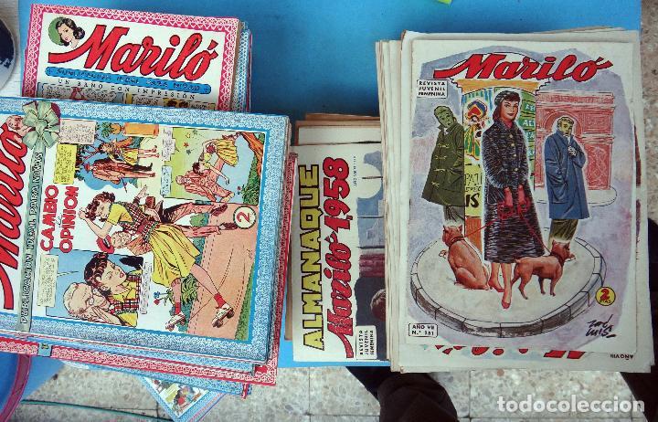 COLECCION MARILO CASI COMPLETA , MUY BUEN ESTADO, 237 TEBEOS , VALENCIANA , ORIGINALES (Tebeos y Comics - Tebeos Colecciones y Lotes Avanzados)