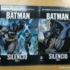 Tebeos: BATMAN SILENCIO (DC NOVELAS GRAFICAS) COLECCION COMPLETA (2 TOMOS). Lote 103615647
