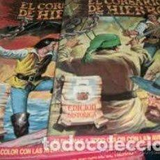 Tebeos: EL CORSARIO DE HIERRO EDICIÓN HISTÓRICA LOTE DE 39 TEBEOS. Lote 103885271