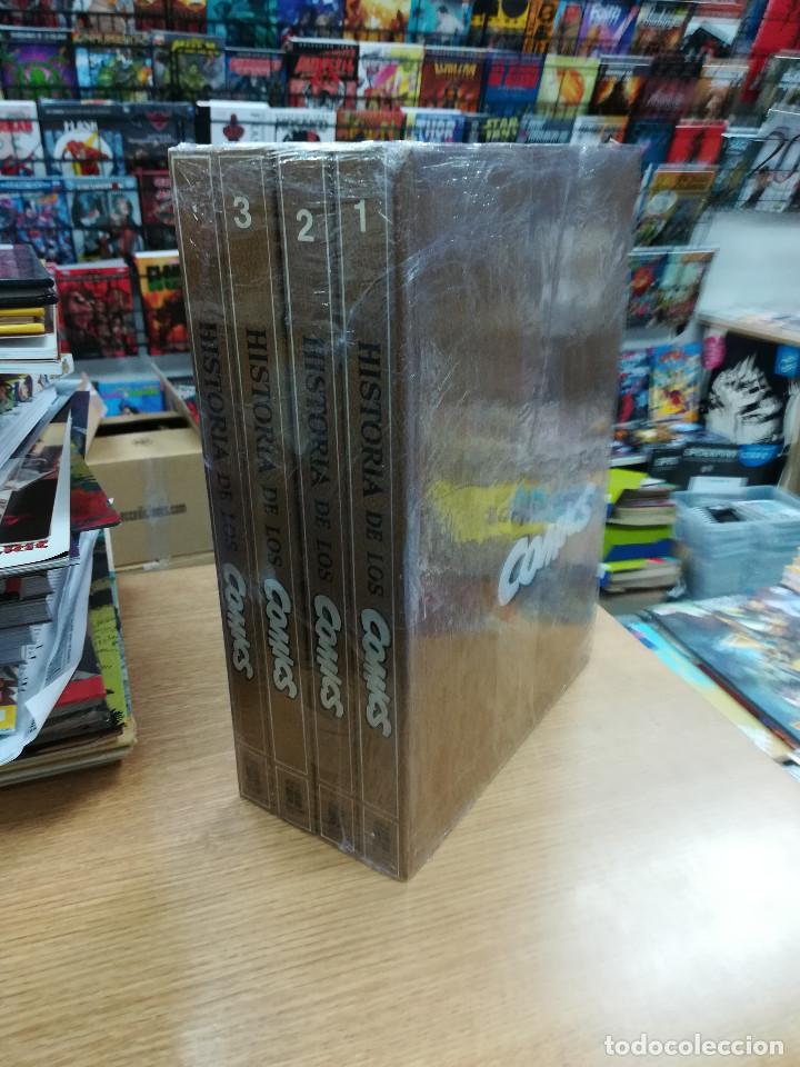 HISTORIA DE LOS COMICS COLECCION COMPLETA (4 TOMOS) (Tebeos y Comics - Tebeos Colecciones y Lotes Avanzados)