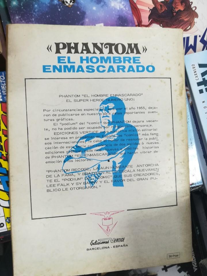Tebeos: EL HOMBRE ENMASCARADO VOL 1 (VERTICE) COLECCION COMPLETA (56 NUMEROS) - Foto 2 - 103953295