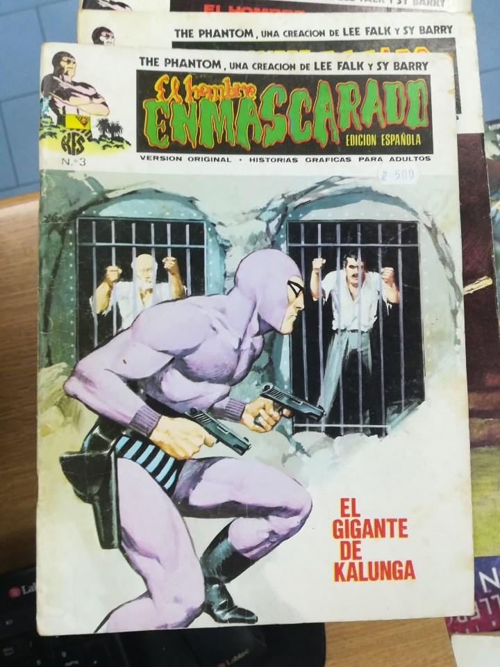 Tebeos: EL HOMBRE ENMASCARADO VOL 1 (VERTICE) COLECCION COMPLETA (56 NUMEROS) - Foto 4 - 103953295