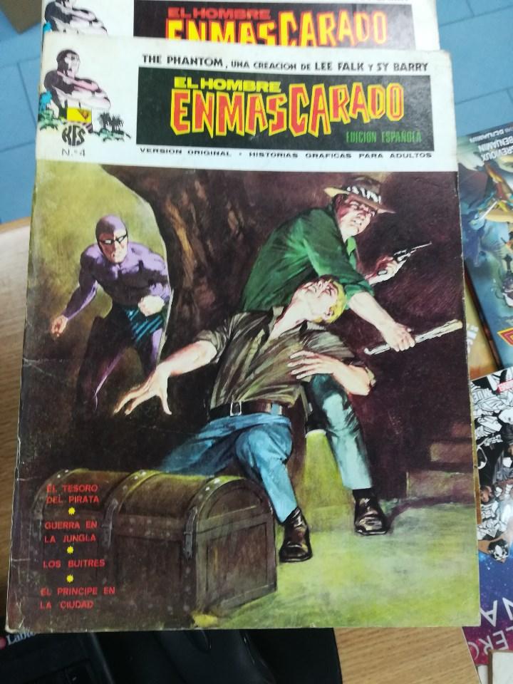 Tebeos: EL HOMBRE ENMASCARADO VOL 1 (VERTICE) COLECCION COMPLETA (56 NUMEROS) - Foto 5 - 103953295