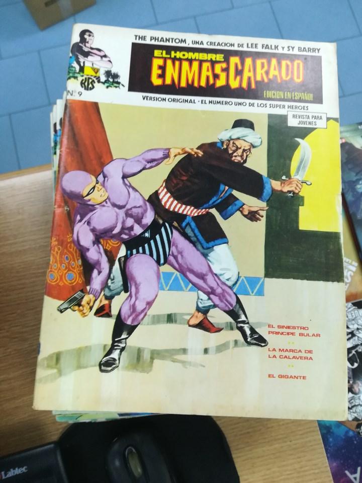 Tebeos: EL HOMBRE ENMASCARADO VOL 1 (VERTICE) COLECCION COMPLETA (56 NUMEROS) - Foto 10 - 103953295