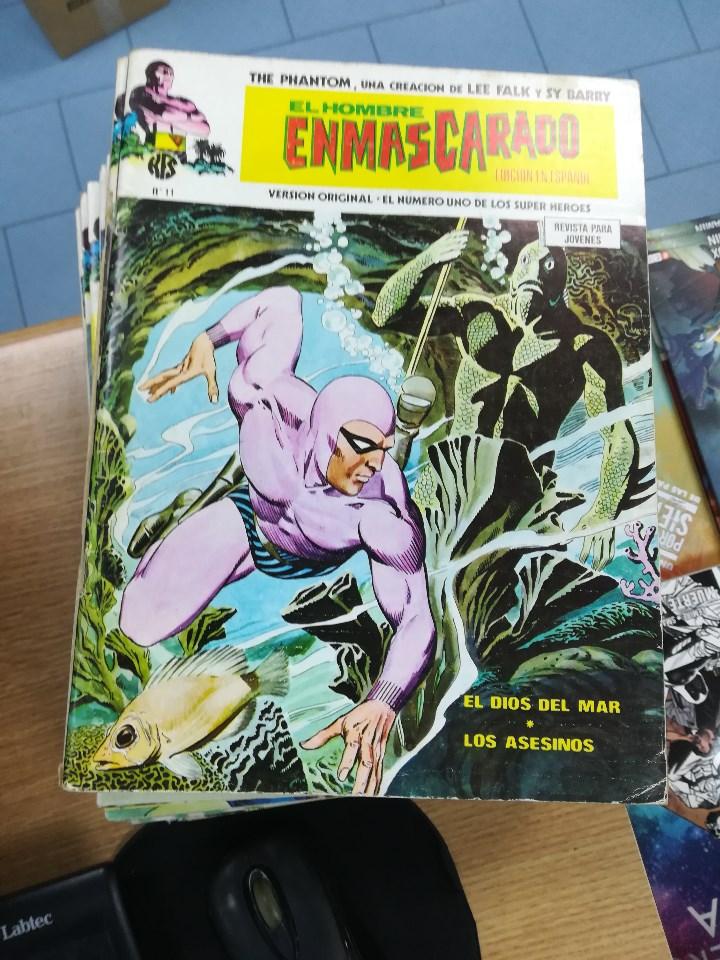 Tebeos: EL HOMBRE ENMASCARADO VOL 1 (VERTICE) COLECCION COMPLETA (56 NUMEROS) - Foto 12 - 103953295
