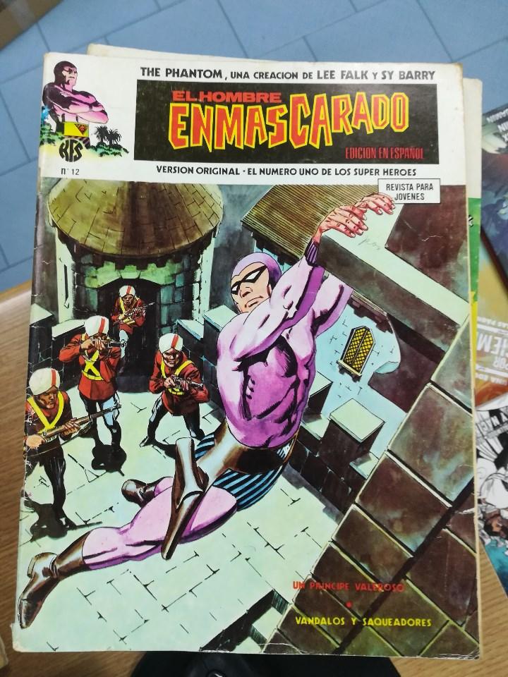 Tebeos: EL HOMBRE ENMASCARADO VOL 1 (VERTICE) COLECCION COMPLETA (56 NUMEROS) - Foto 13 - 103953295