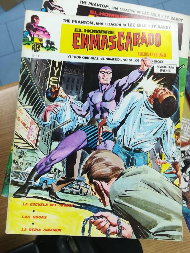 Tebeos: EL HOMBRE ENMASCARADO VOL 1 (VERTICE) COLECCION COMPLETA (56 NUMEROS) - Foto 15 - 103953295