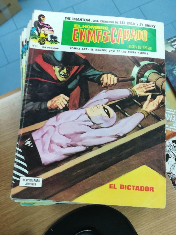 Tebeos: EL HOMBRE ENMASCARADO VOL 1 (VERTICE) COLECCION COMPLETA (56 NUMEROS) - Foto 24 - 103953295