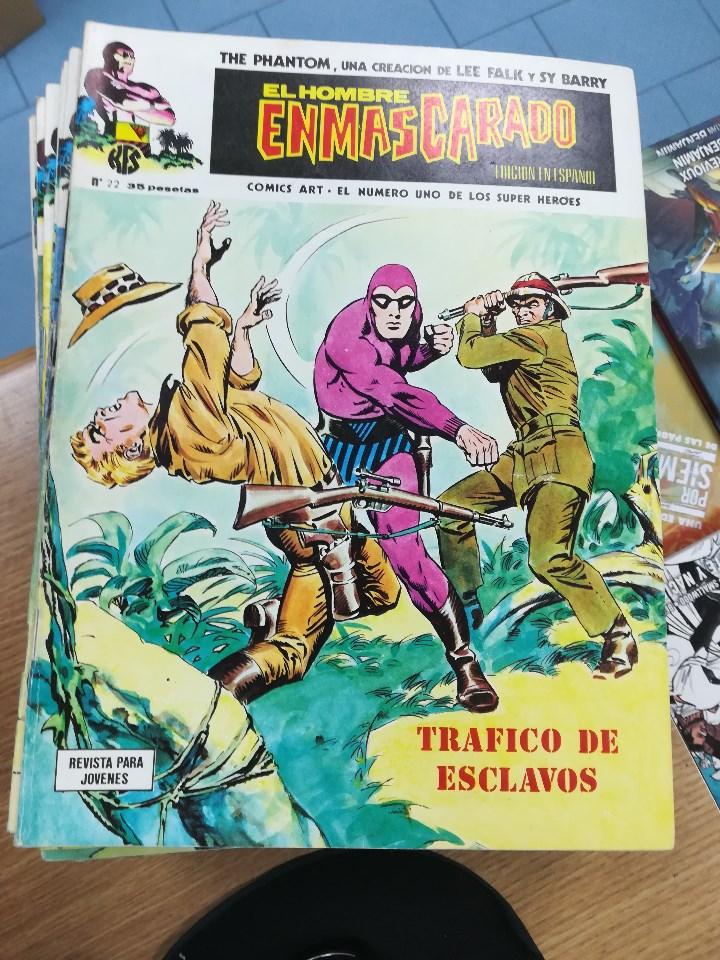 Tebeos: EL HOMBRE ENMASCARADO VOL 1 (VERTICE) COLECCION COMPLETA (56 NUMEROS) - Foto 25 - 103953295