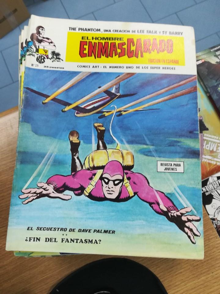 Tebeos: EL HOMBRE ENMASCARADO VOL 1 (VERTICE) COLECCION COMPLETA (56 NUMEROS) - Foto 28 - 103953295