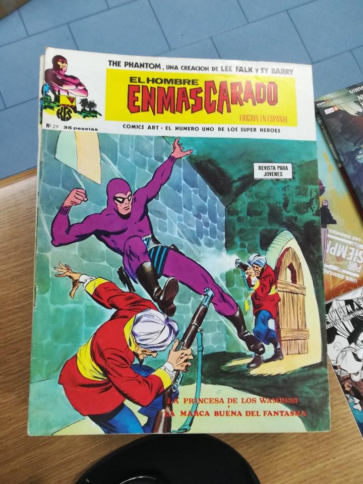 Tebeos: EL HOMBRE ENMASCARADO VOL 1 (VERTICE) COLECCION COMPLETA (56 NUMEROS) - Foto 32 - 103953295