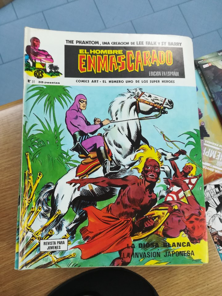 Tebeos: EL HOMBRE ENMASCARADO VOL 1 (VERTICE) COLECCION COMPLETA (56 NUMEROS) - Foto 34 - 103953295