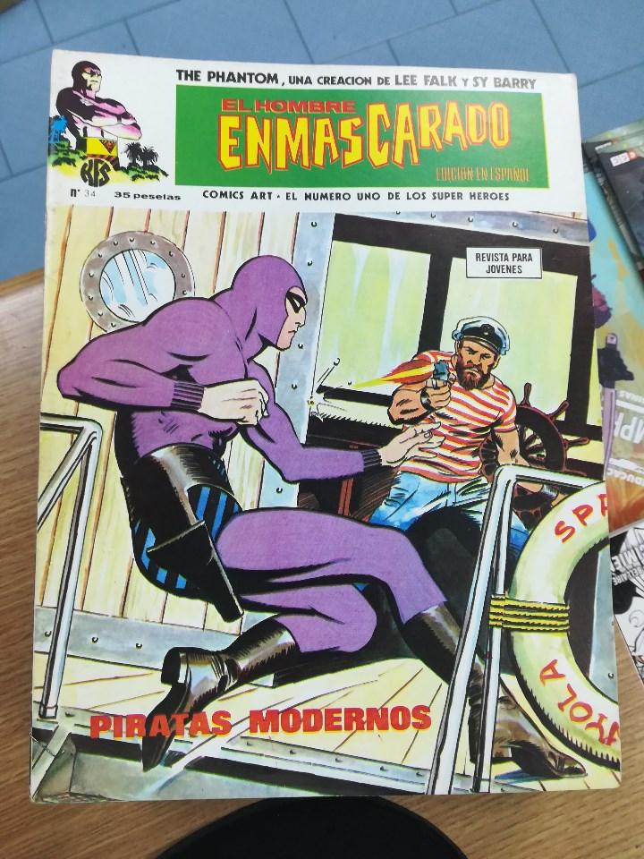 Tebeos: EL HOMBRE ENMASCARADO VOL 1 (VERTICE) COLECCION COMPLETA (56 NUMEROS) - Foto 37 - 103953295