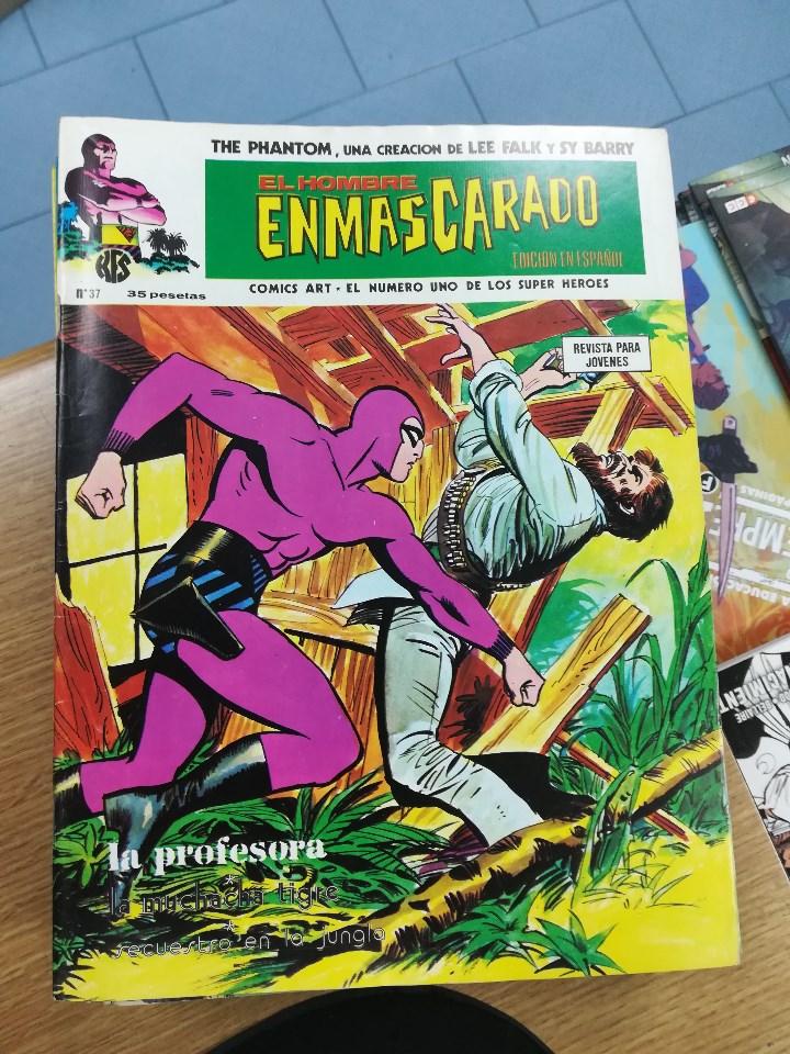 Tebeos: EL HOMBRE ENMASCARADO VOL 1 (VERTICE) COLECCION COMPLETA (56 NUMEROS) - Foto 40 - 103953295
