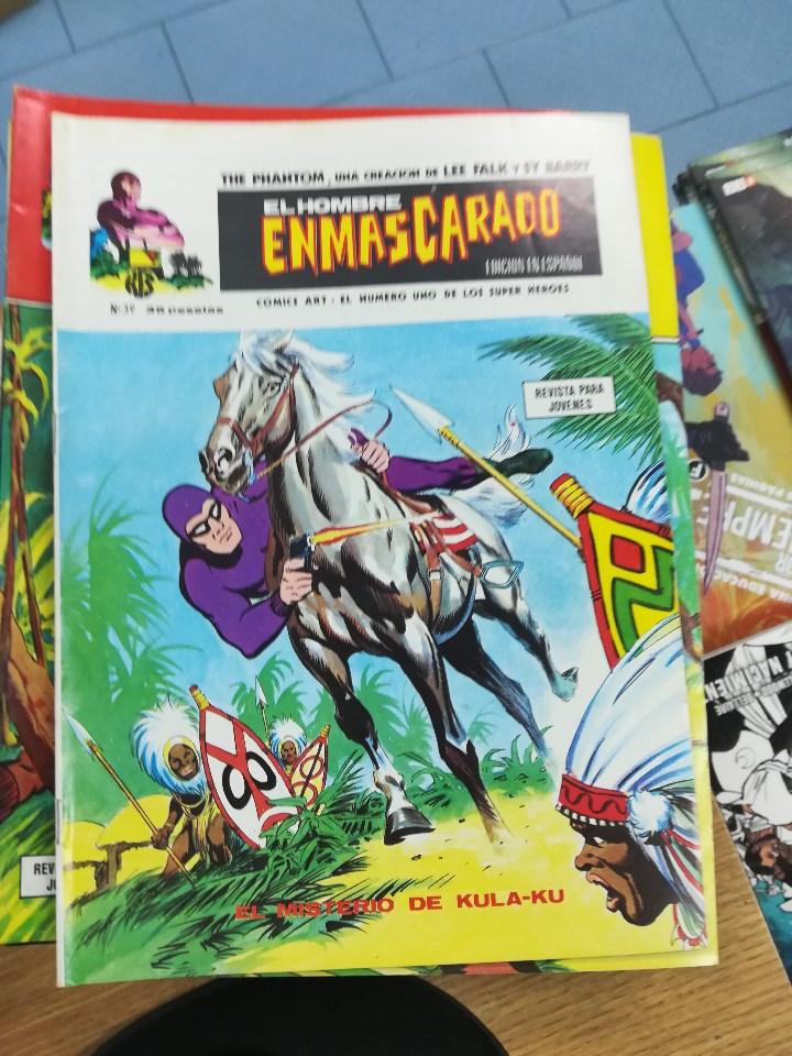 Tebeos: EL HOMBRE ENMASCARADO VOL 1 (VERTICE) COLECCION COMPLETA (56 NUMEROS) - Foto 42 - 103953295