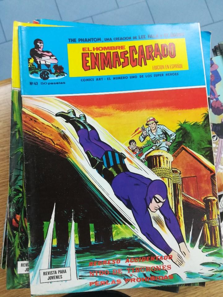 Tebeos: EL HOMBRE ENMASCARADO VOL 1 (VERTICE) COLECCION COMPLETA (56 NUMEROS) - Foto 46 - 103953295